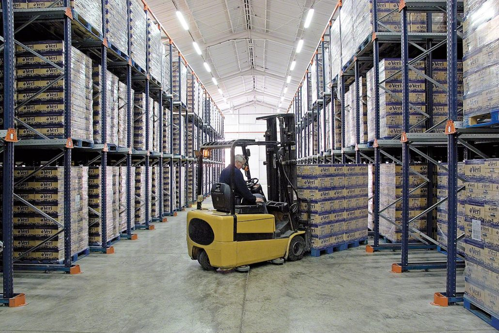 Drive In Pallet Rack Aloi Materials Handling Amp Automation