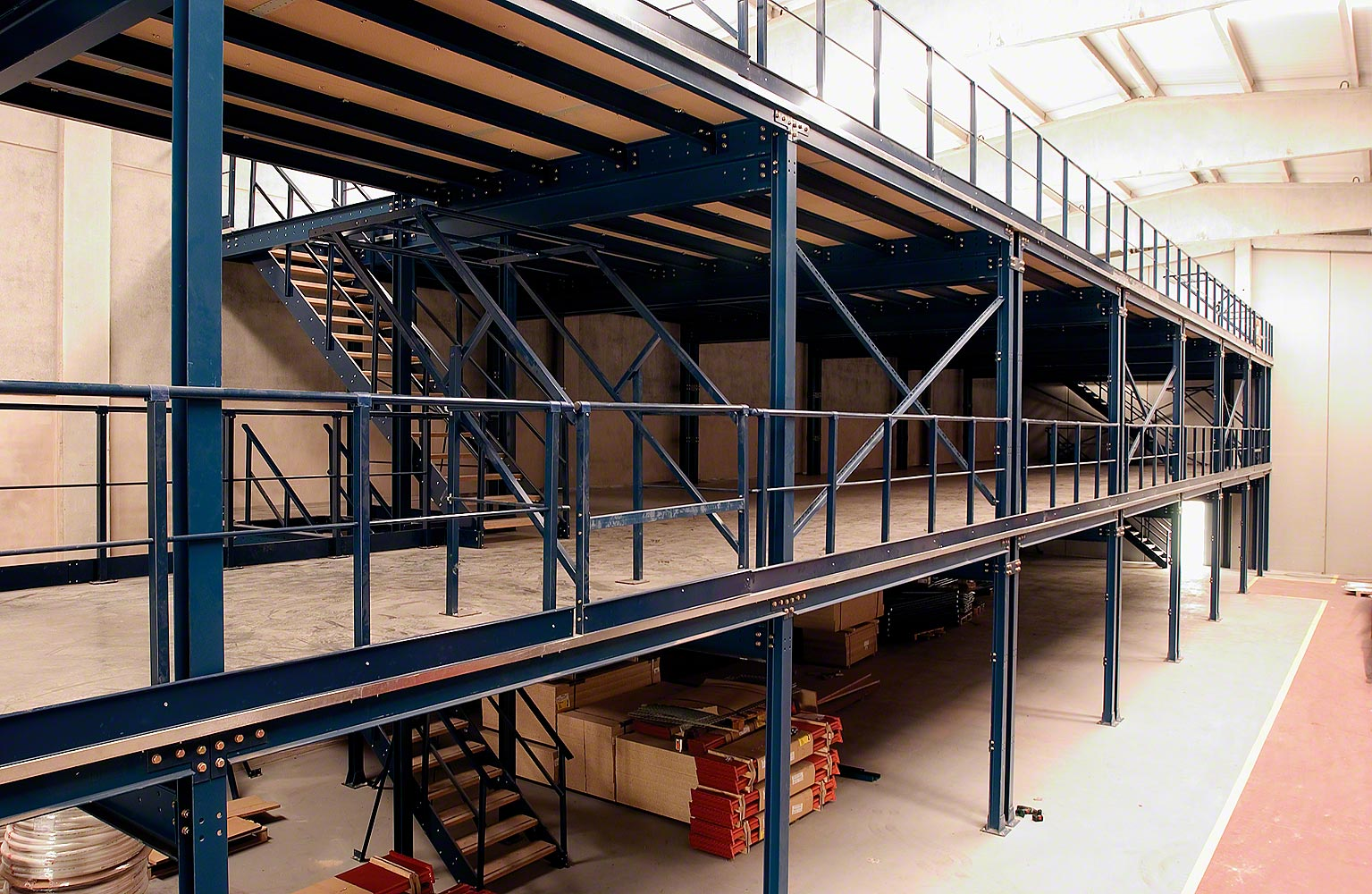 Mezzanines Aloi Materials Handling Amp Automation