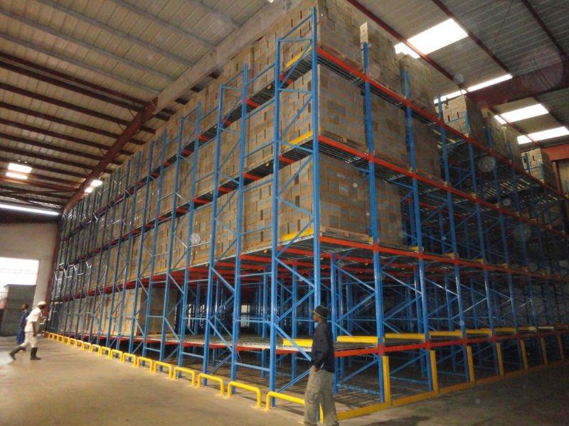 Pallet Flow Rack Aloi Materials Handling Amp Automation