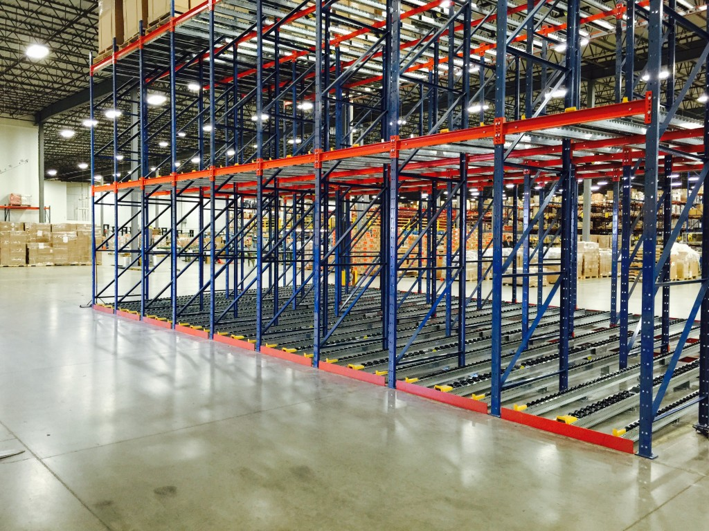 Pallet Flow Rack Aloi Materials Handling Amp Automation