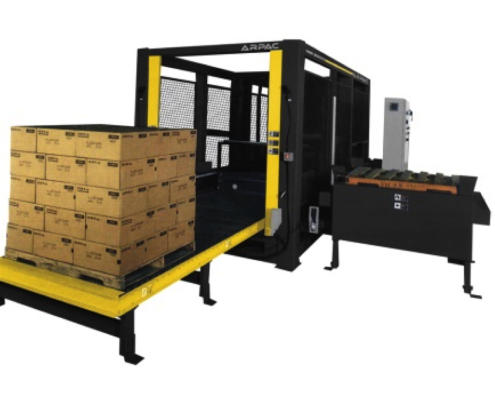 ARPAC 1000 low level palletizer