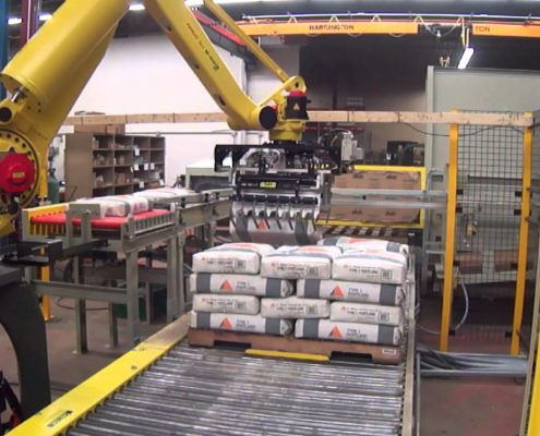 FANUC Robotic Bag Palletizer system