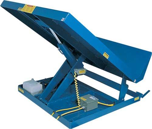 Lift And Tilt Tables Aloi Materials Handling