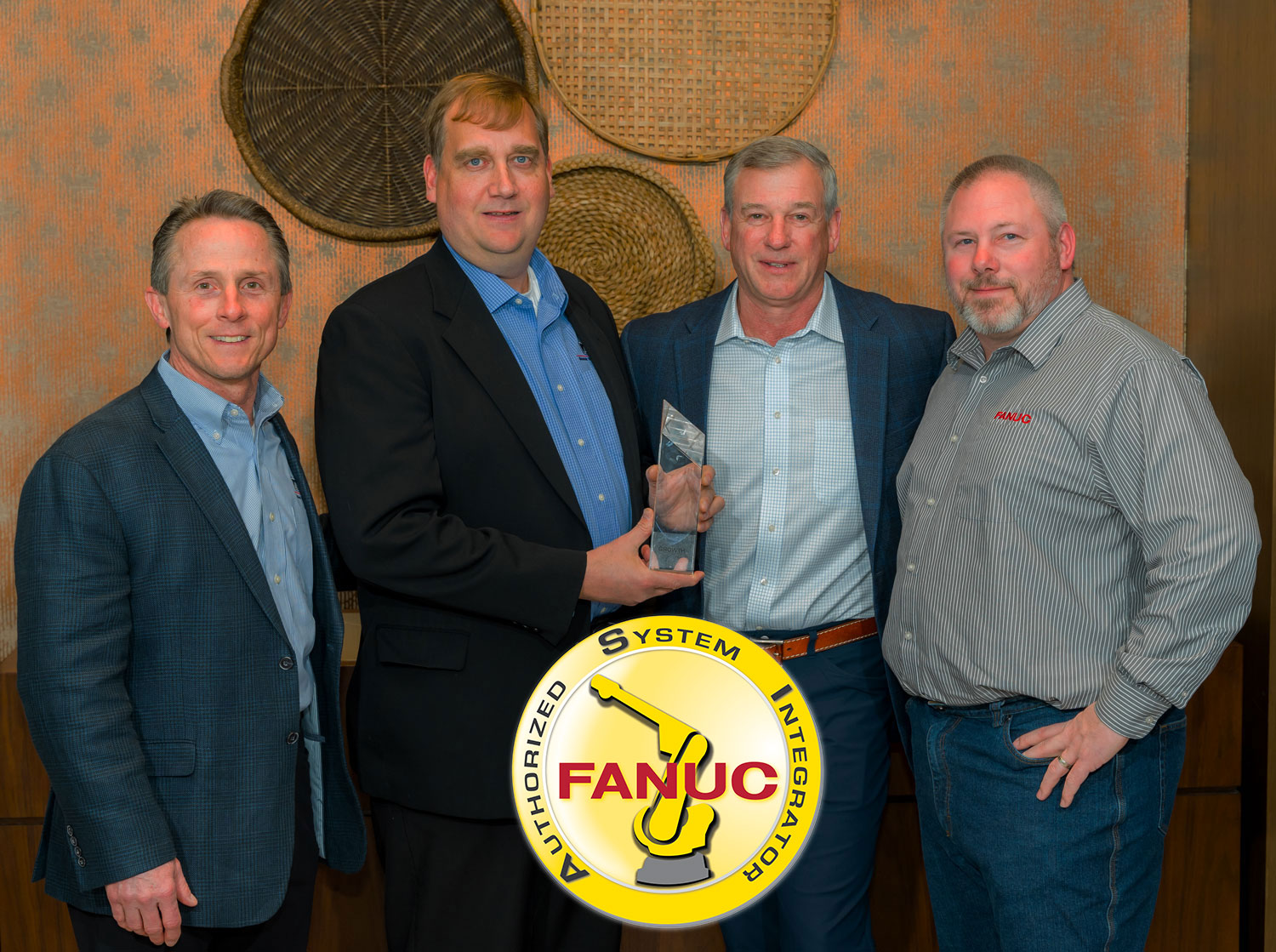 Aloi receives Outstanding Sales Growth award at Fanuc Annual Authorized Systems Integrators Conference