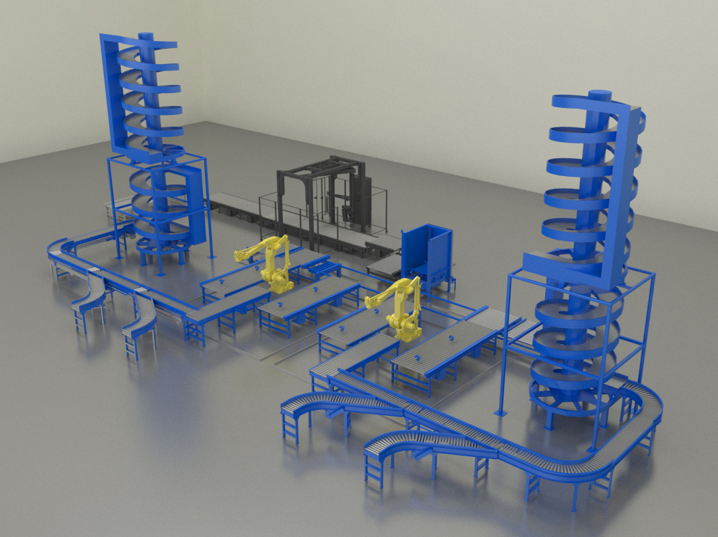 Aloi Materials Handling & Automation System Integration Design