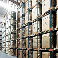 Aloi Materials Handling & Automation Warehouse Solutions - Drive In Pallet Rack