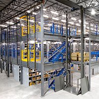 Aloi Materials Handling & Automation Warehouse Solutions - Mezzanines