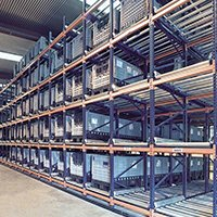 Aloi Materials Handling & Automation Warehouse Solutions - Pallet Flow Rack