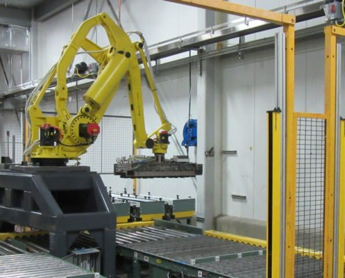 FANUC Robotic Carton Palletizer system