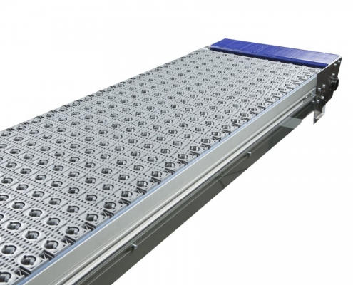 Dorner Activated Roller Belt Conveyor - 3200 Series - Aloi Materials Handling & Automation