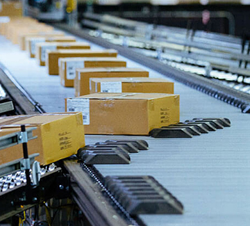 Sortation Conveyor - Hytrol - Aloi Materials Handling & Automation