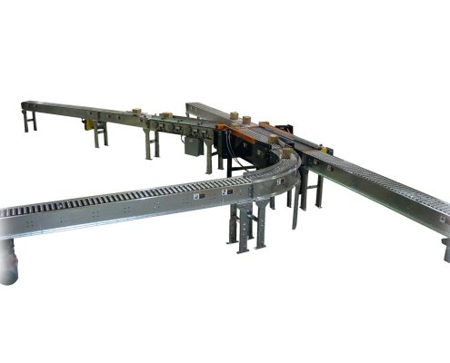 Omni Activated Roller Belt Conveyor - Aloi Materials Handling and Automation