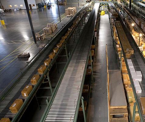 Hytrol Accumulation Zero-Pressure Conveyor