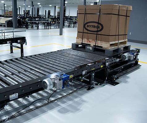 Hytrol Chain Driven Live Roller (CDLR) Pallet Conveyor
