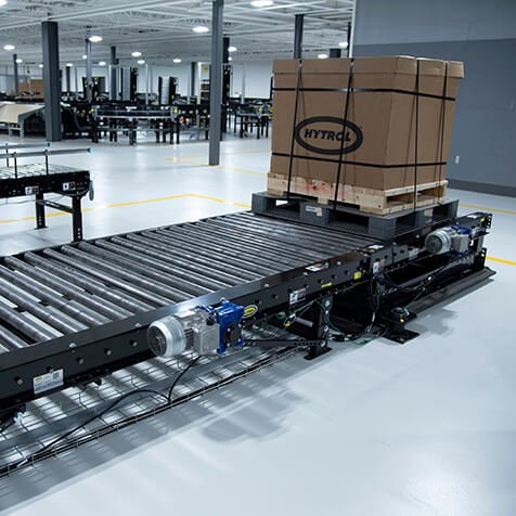 Hytrol Chain Driven Live Roller (CDLR) Pallet Conveyor