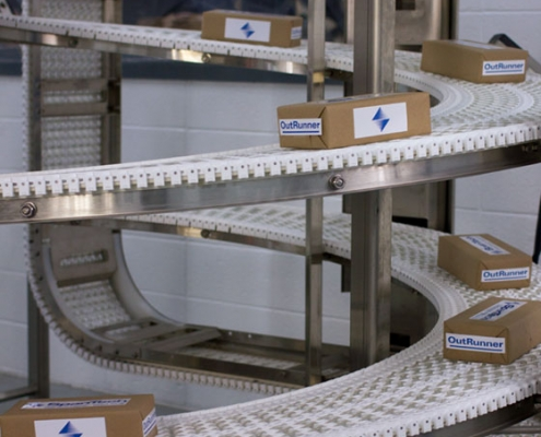 Span Tech Spiral Elevator Conveyor