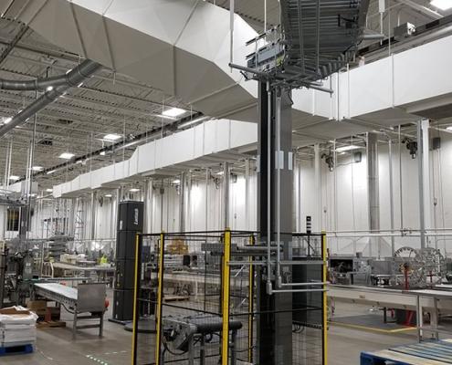 Qimarox PRORUNNER Mk 1 Vertical Conveyor