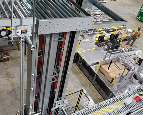Qimarox PRORUNNER Mk 5 Vertical Continuous Conveyor