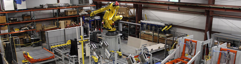 FANUC Robotic Case Palletizer