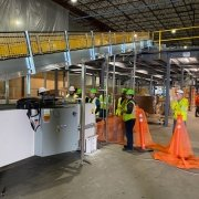 Aloi installs SRS Santa Rosa Systems Telescopic Conveyors at Global Retailer