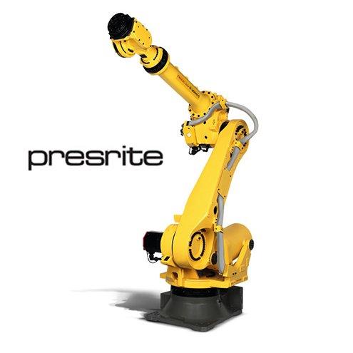 Presrite Fanuc R2000iC/165F FoundryPro Robot Installation